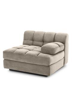 Dean Savona Greige Right Sofa