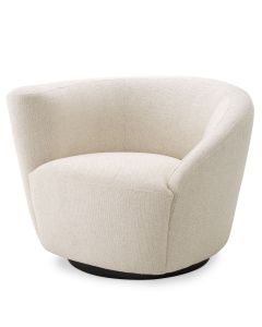 Colin Pausa Natural Swivel Chair - Left