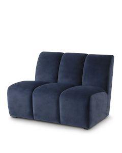Lando Savona Midnight Blue Straight Sofa