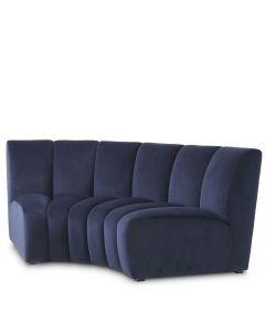 Lando Savona Midnight Blue Corner Sofa