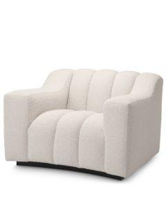 Kelly Boucle Sand Armchair