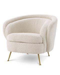 Orion Boucle Cream Armchair