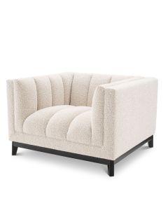 Ditmar Boucle Cream Armchair