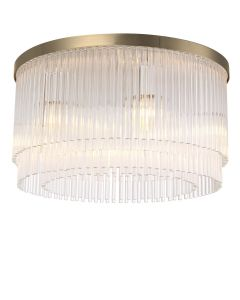 Hector Ceiling Light Brushed Brass