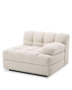 Dean Boucle Cream Right Sofa