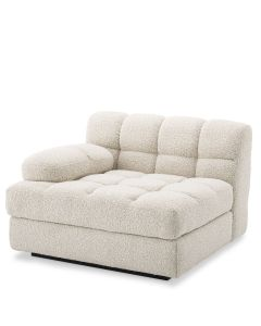 Dean Boucle Cream Left Sofa