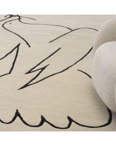 Piccione Rug Off White 300 x 400