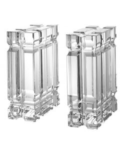 Linea Crystal Bookend - Set of 2