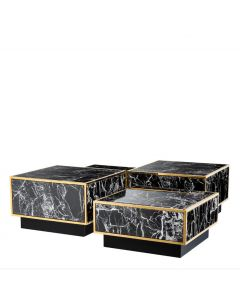 Concordia Gold Coffee Table - Set of 4