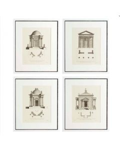 Architecture Prints - Set of 4