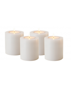 Artificial Candle Large - Set of 4