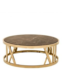 BACCARAT COFFEE TABLE GOLD