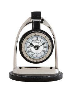 BAILEY EQUESTRIAN CLOCK NICKEL