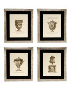 Giovanni Battista Prints - Set of 4