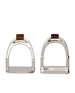 Horse Shoe Nickel Bookend - Set of 2