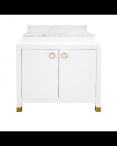 Bree White Bath Vanity
