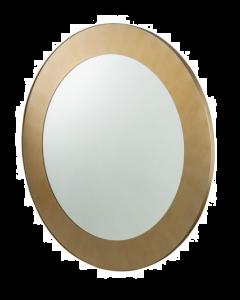 Camden Round Brass Mirror