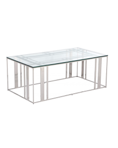 Lafayette Stainless Steel Coffee Table