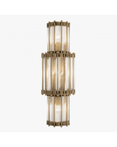 Tiziano 3-Layer Brass Wall Lamp