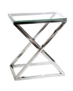 Criss Cross High Side Table