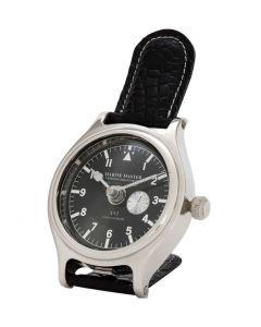 Marine Master Nickel Clock