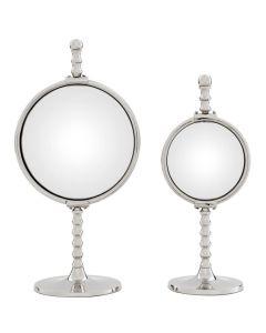 Floyd Nickel Mirror - Set of 2