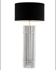 Reef Nickel Table Lamp