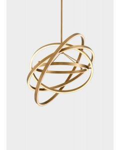 Cassini Antique Brass Chandelier