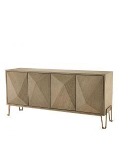 Highland Washed Oak Cabinet