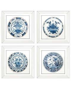 Imperial China Prints - Set of 4