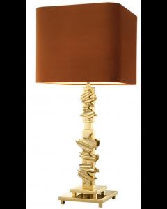 ABRUZZO TABLE LAMP BRASS