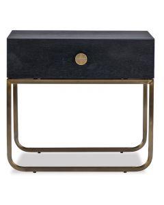 Rhapsody Crown Ash Bedside Table