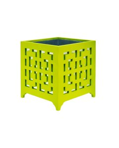 Libby Lime Green Planter