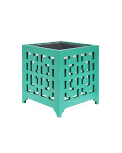 Libby Turquoise Planter
