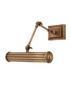Luca Small Brass Wall Lamp