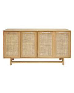 Macon Pine & Nickel Cabinet