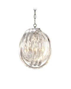 Marco Polo Small Nickel Chandelier