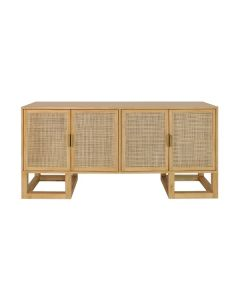 PATRICK CANE AND PINE CABINET BRASS
