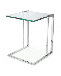 Perry Nickel Side Table