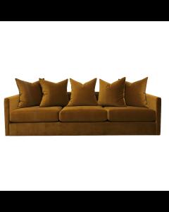 Pillow Gold Velvet Sofa