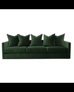 Pillow Emerald Velvet Sofa