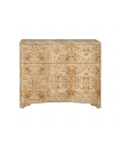 Plymouth Burl Wood Chest