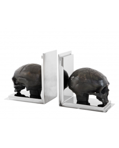 Skull Bookend - Set of 2