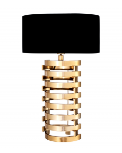 BOXTER LAMP LARGE GOLD