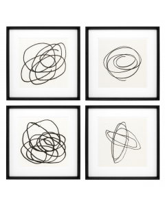 Black & White Collection II Prints - Set of 4