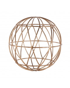 Atlas Small Gold Leaf Sphere