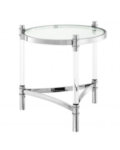 Trento Stainless Steel Side Table