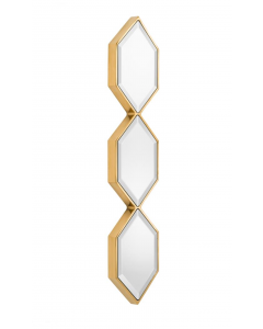 Saronno Gold Mirror