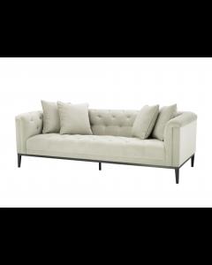 Cesare Pebble Grey Sofa