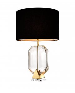 EICHHOLTX EMERALD CRYSTAL TABLE LAMP